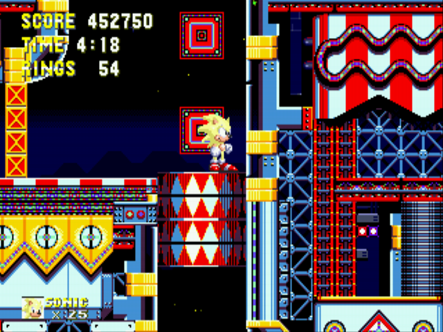 Sonic the Hedgehog 3 - Got any idea how to get past here? - User Screenshot